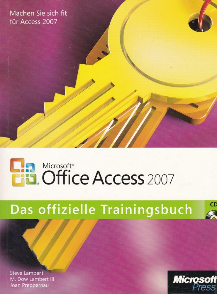 Bild 7: Access - Bücher zur MS Datenbanksoftware