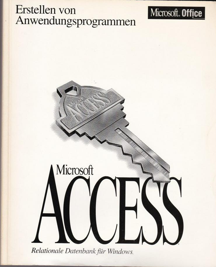 Bild 9: Access - Bücher zur MS Datenbanksoftware