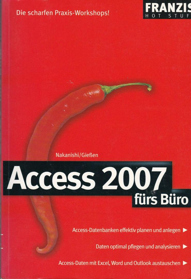 Bild 10: Access - Bücher zur MS Datenbanksoftware
