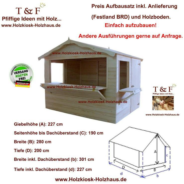 Markthütte KIOSK Jahrmarktstand Verkaufsstand