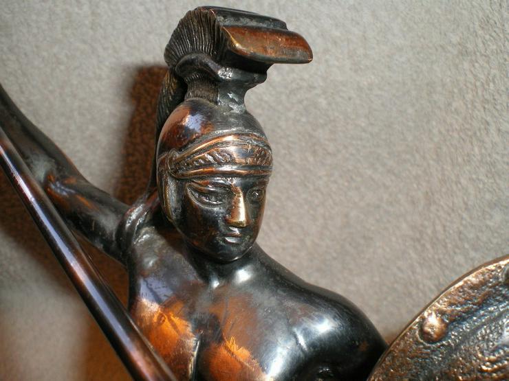 Bild 6: Skulptur - Figur Leonidas von Sparta Kupfer VB
