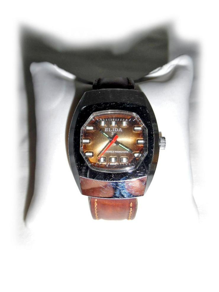 Seltene Elida Armbanduhr