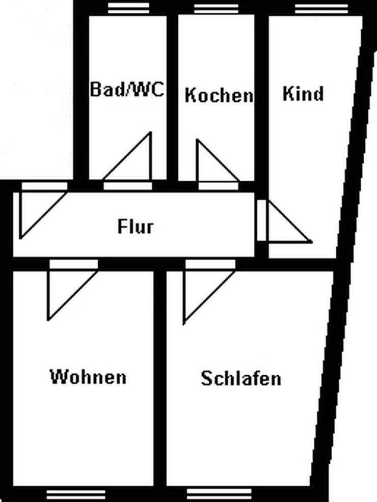 Bild 2: Kleine 3-Raum-Wohnung in zentraler Lage!