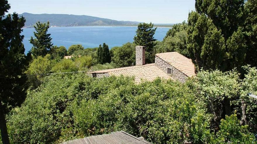 Villa mit Panoramablick in der Toscana