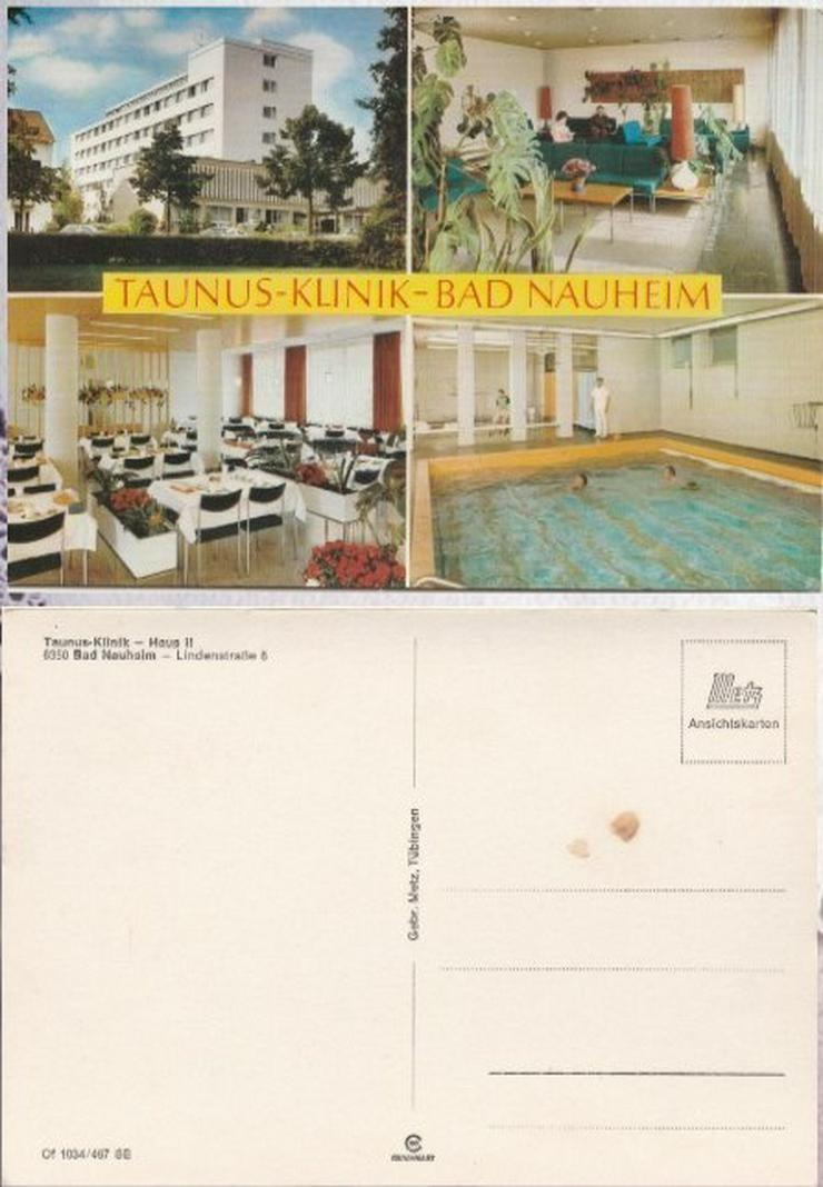 Postkarte, Taunus-Klinik-Bad Nauheim