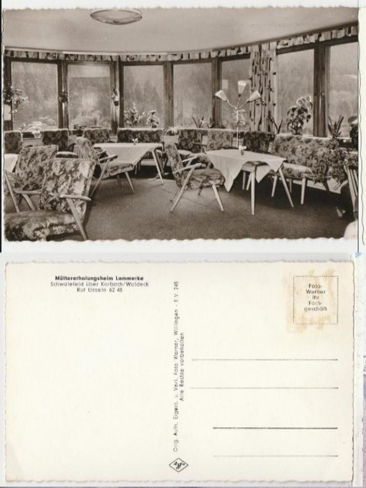 Postkarte, Müttererholungsheim Korbach/Waldeck