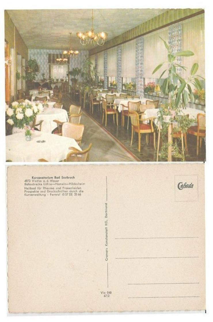 Postkarte, Kursanatorium Bad Seebruch .Vlotho