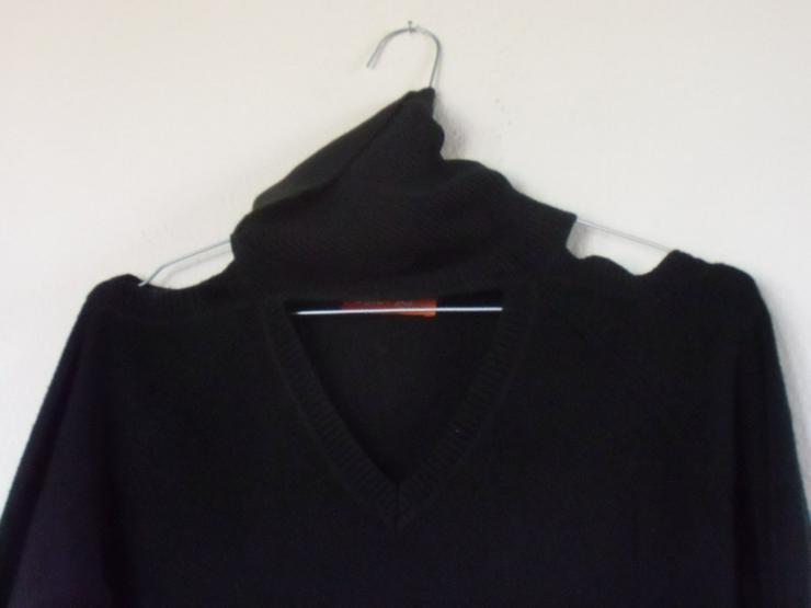 Bild 3: schwarzer, schulterfreier Pulli