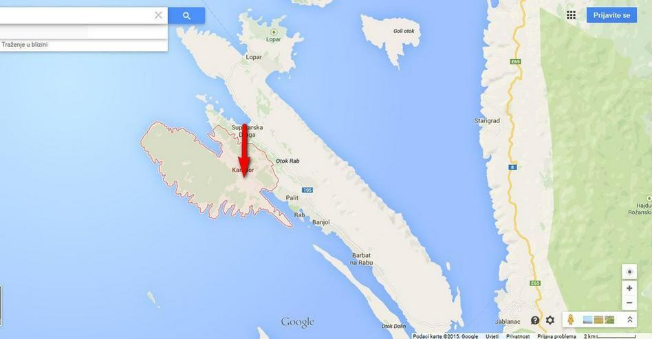 Bild 4: Baugrundstück zum Verkauf, Insel Rab, Kroatien