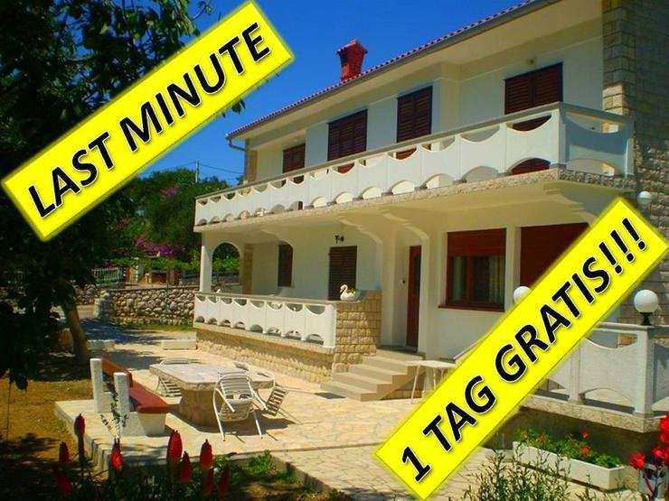 FERIENWOHNUNG A8+2, INSEL RAB-KROATIEN - Ferienwohnung Kroatien - Bild 1