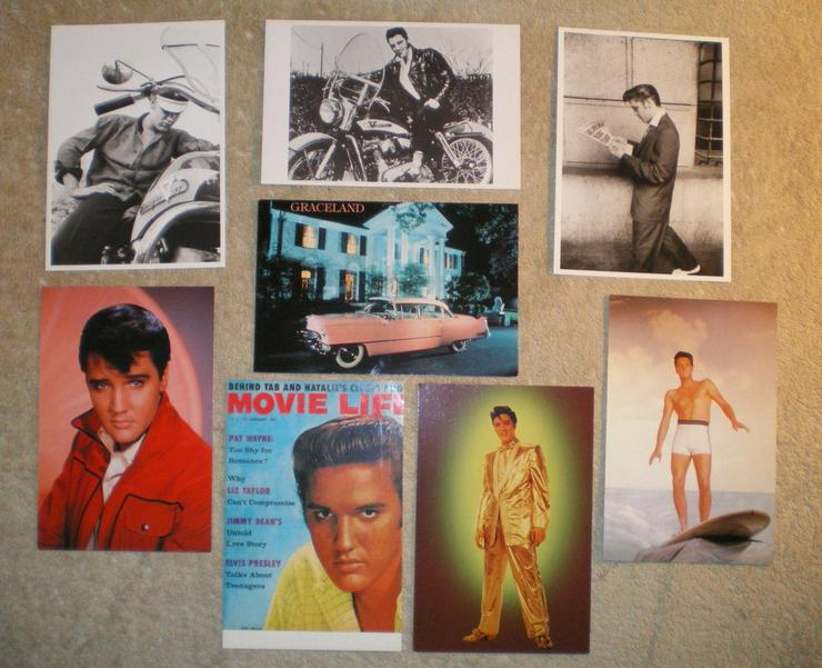 Elvis Presleyoriginale Postkarten noch einmal reduziert (FP)