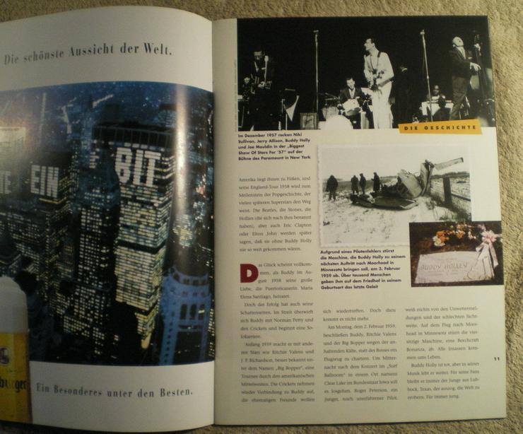 Bild 5: Buddy Holly Story Musical 1996 Hamburg (FP) noch 1 x Preis runter gesetzt !
