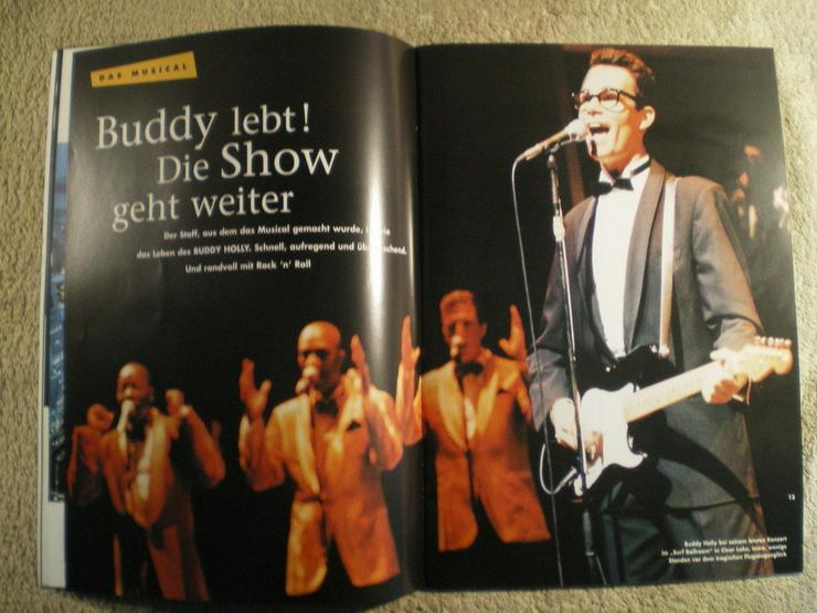 Bild 6: Buddy Holly Story Musical 1996 Hamburg (FP) noch 1 x Preis runter gesetzt !
