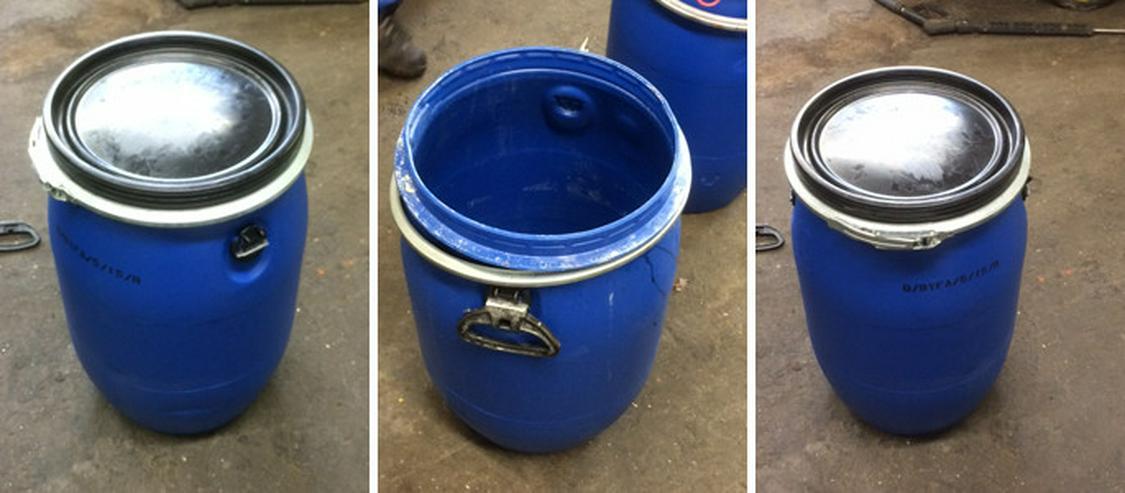 Rekonditioniert 60 Liter Kunststofffässer