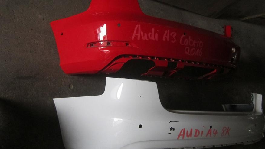 Heckstosstangen Audi A3 Cabrio u A4 8K