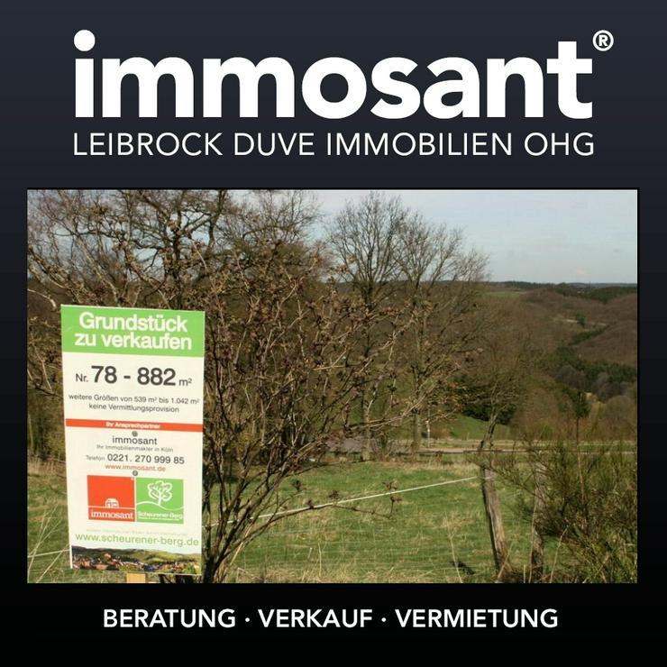 Unverbaubare Fernsicht in der Eifel - 882,00 qm - GS-SB78 - Grundstück kaufen - Bild 1