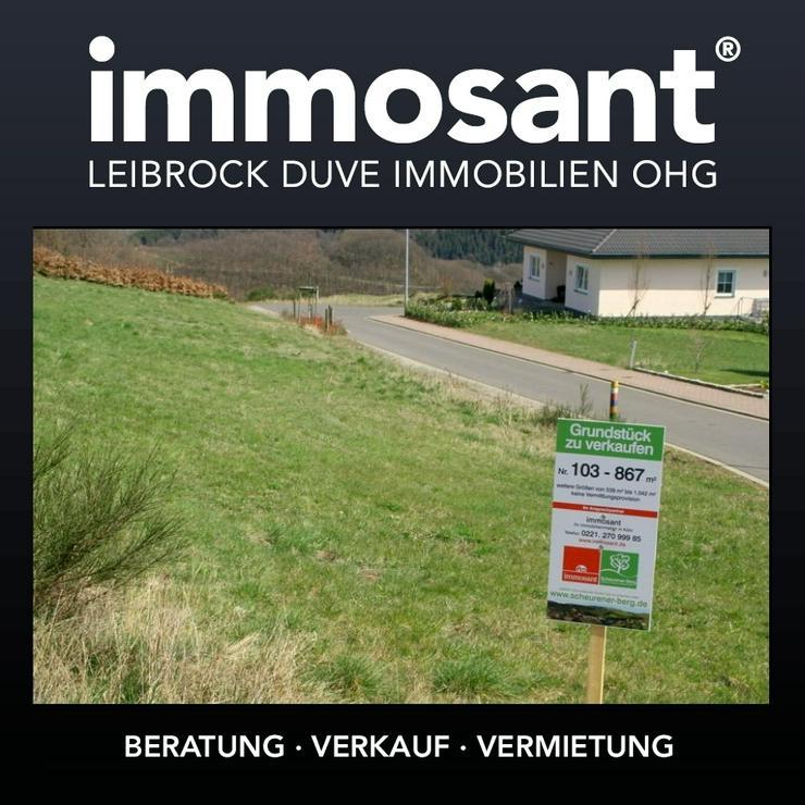Unverbaubare Fernsicht in der Eifel - 867,00 qm - GS-SB103 - Grundstück kaufen - Bild 1