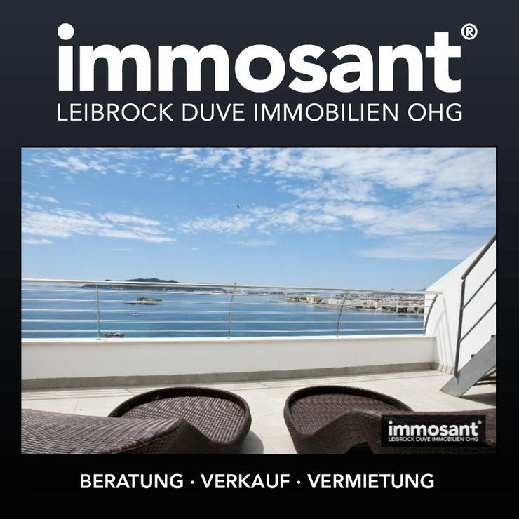 Fabelhafte Neubau Maisonette in Ibiza Stadt mit spektakulärem Meerblick - MS05721