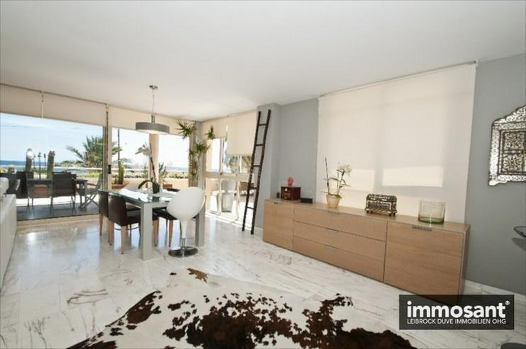 Bild 2: Luxuswohnung vollausgestattet am Strand von Playa d?en Bossa - MS05754