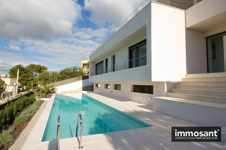 Bild 2: Neubau Villa in exklusiver Süd West Hanglage über Talamanca Ibiza - MS05585