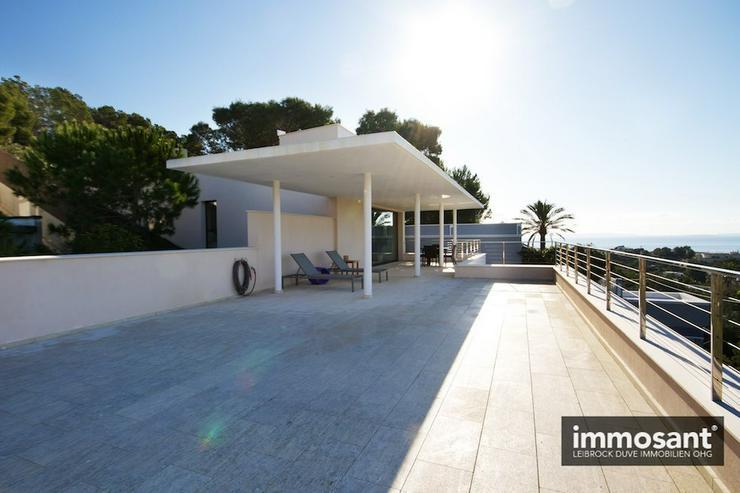 Bild 5: Neubau Villa in exklusiver Süd West Hanglage über Talamanca Ibiza - MS05585