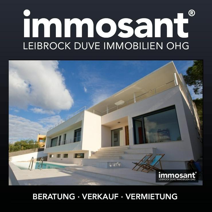Neubau Villa in exklusiver Süd West Hanglage über Talamanca Ibiza - MS05585 - Haus kaufen - Bild 1