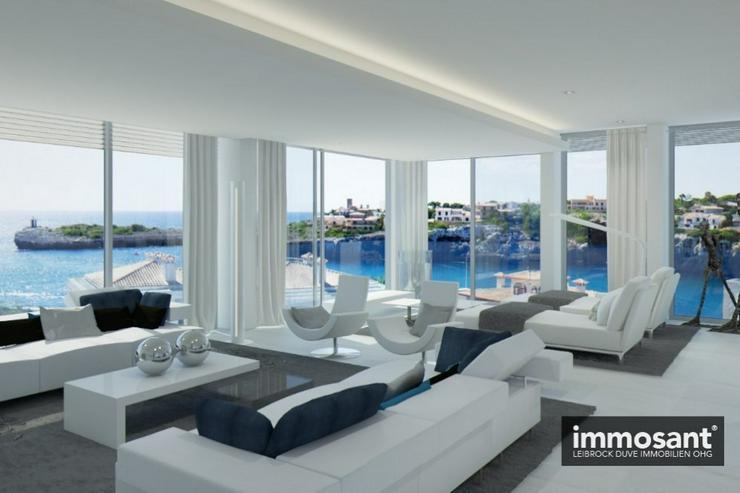 Bild 4: Penthouse in Duplexform - Porto Cristo 1. Reihe Meerlage - Projekt in Bau - 50 % verkauft ...
