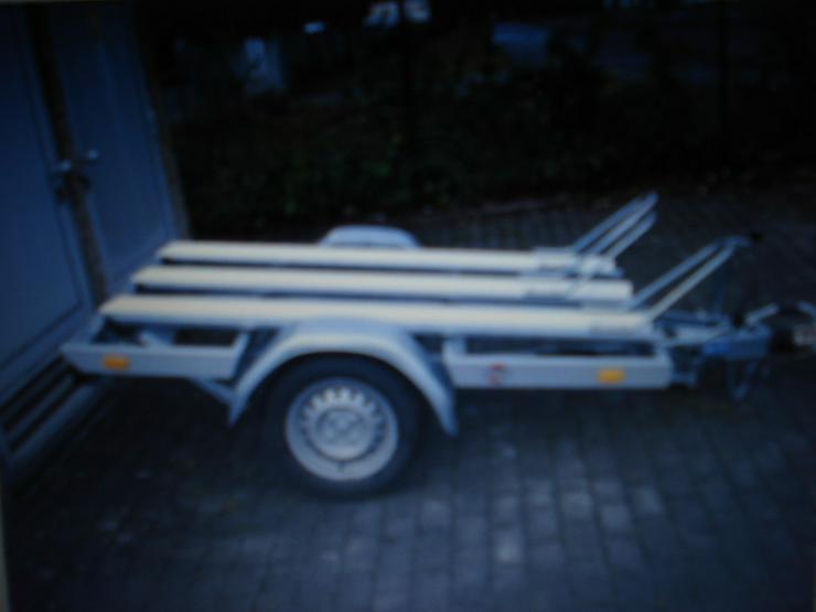 Bild 2: Motorradanhänger zu vermieten