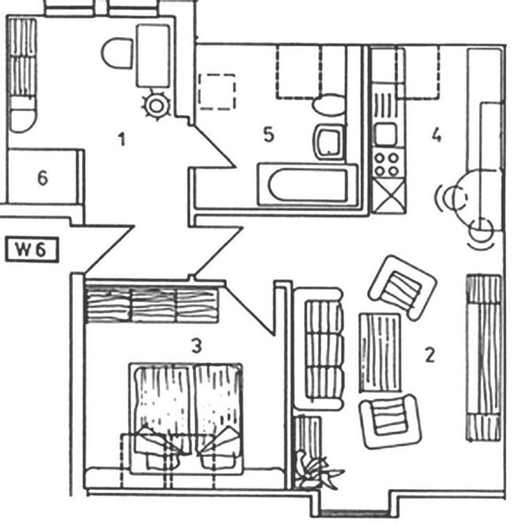 Bild 2: EIGENNUTZUNG - in Bad Dürrenberg - gemütliche helle und freundliche Dachgeschosswohnung