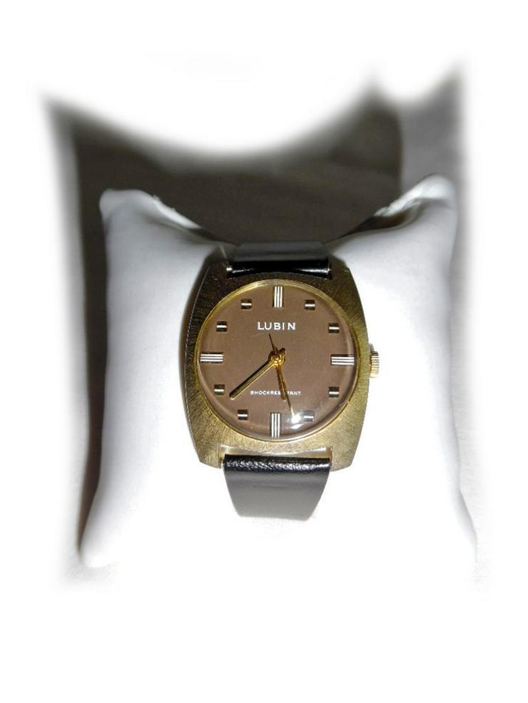 Seltene Armbanduhr von Lubin - Herren Armbanduhren - Bild 1