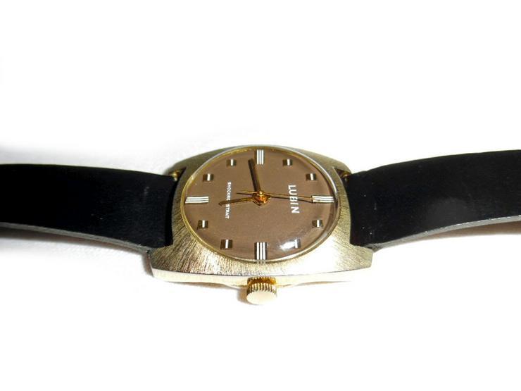 Bild 4: Seltene Armbanduhr von Lubin