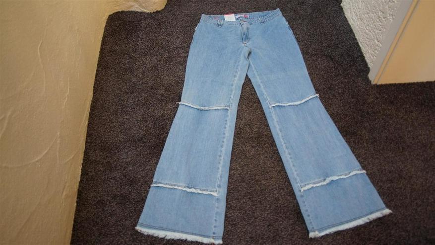 Jeans m. Fransen, Gr. 42, Naoki, neu - W32-W35 / 44-46 / L - Bild 1