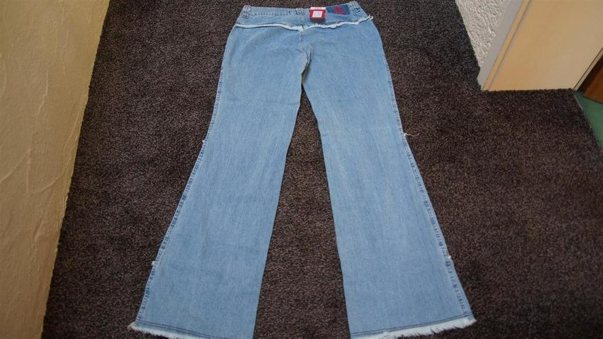 Bild 4: Jeans m. Fransen, Gr. 42, Naoki, neu