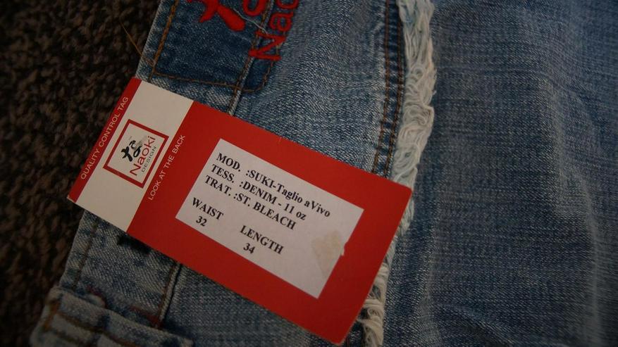Bild 5: Jeans m. Fransen, Gr. 42, Naoki, neu