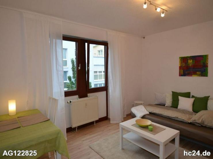 Moderne, helle 1- Zimmerwohnung, befristet - Wohnen auf Zeit - Bild 1
