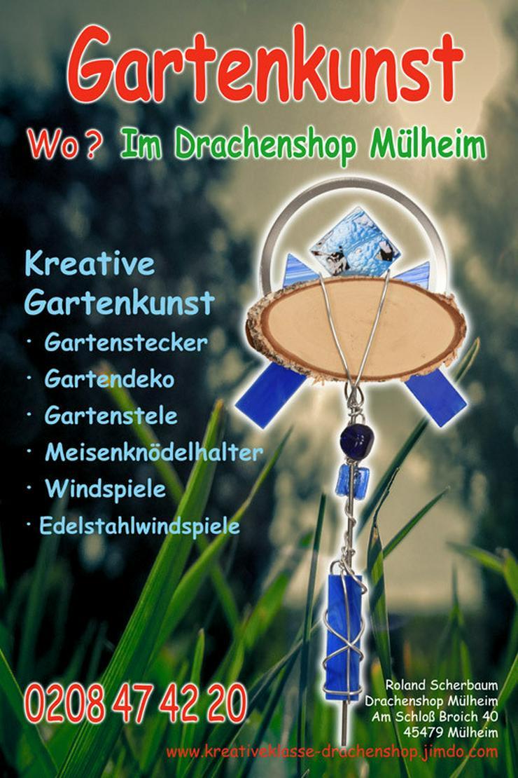 Gartenkunst/Deko/Kunst/Tiffany/Fusing/Duisburg