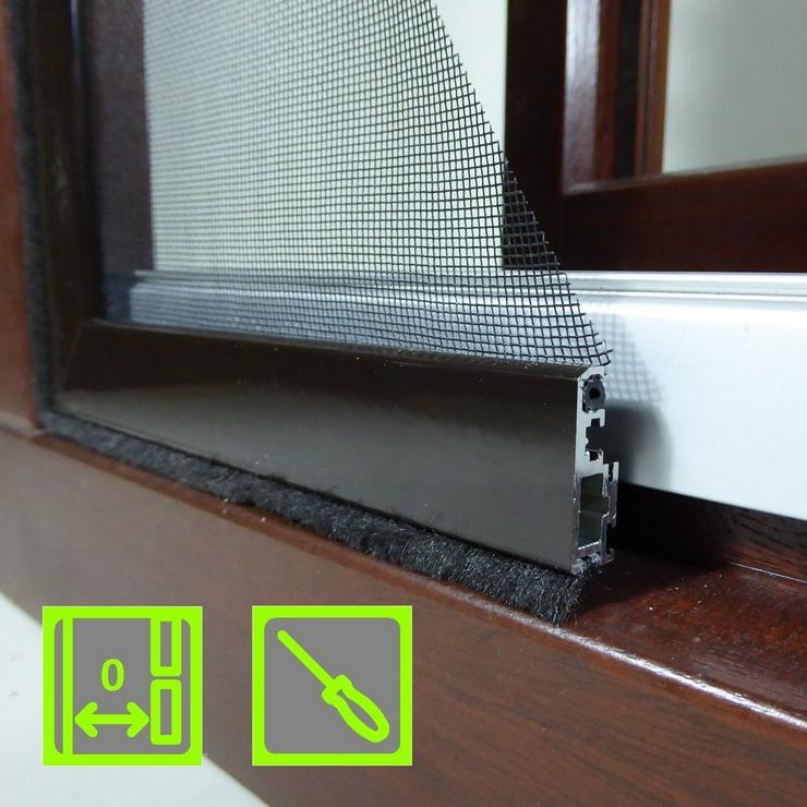 Bild 6: Pollengitter für Fenster von KoriTec