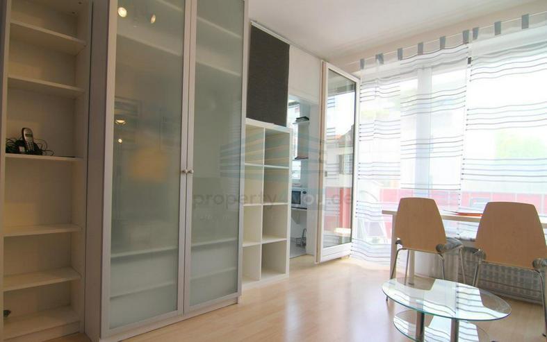 Bild 4: Möblierte 1-Zi. Apartment mit Balkon / München - Schwabing
