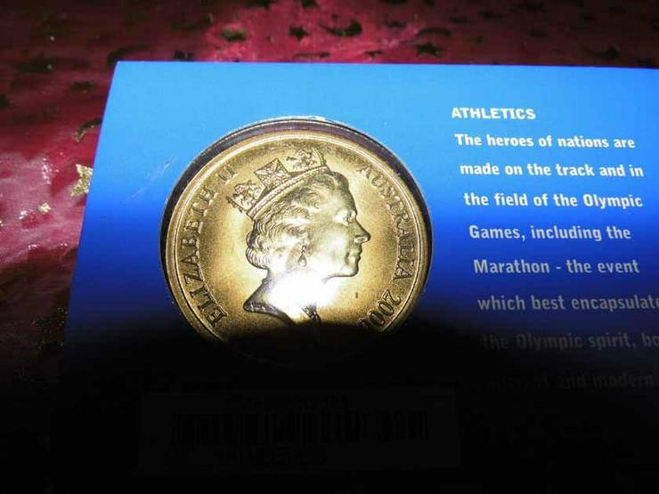 Bild 4: 5 Dollars Sydney 2000 CoinCard / Olympia / LEI