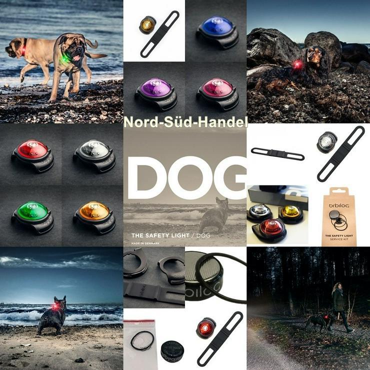 Hundelicht Orbiloc Dog Dual Safety Light - Halsbänder, Leinen & Maulkörbe - Bild 1