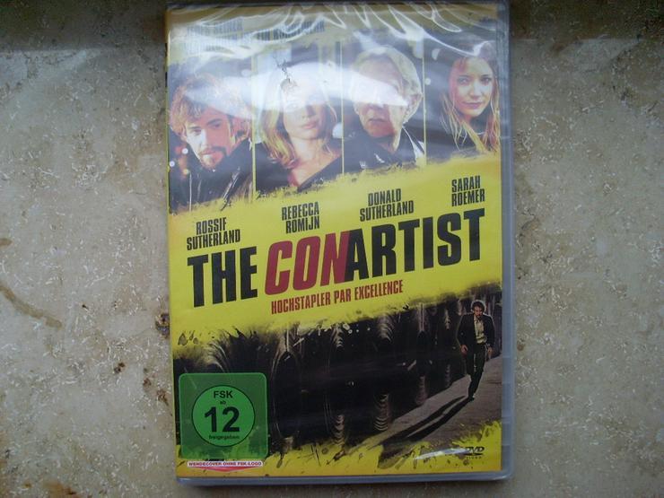 Con Artist DVD NEU Donald Sutherland