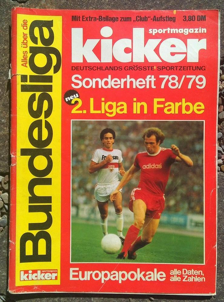 Kicker Bundesliga Sonderheft 78/79 - Zeitschriften & Zeitungen - Bild 1