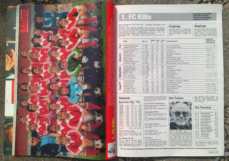 Bild 2: Kicker Bundesliga Sonderheft 78/79