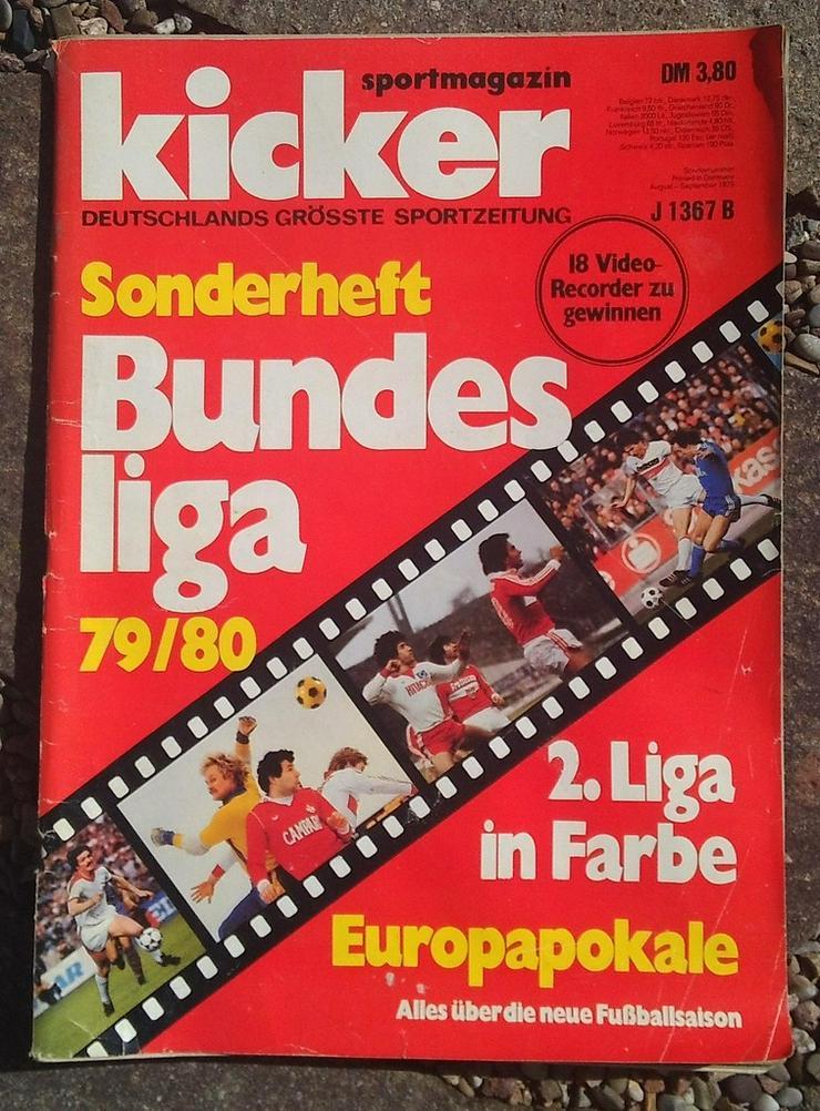Kicker Bundesliga Sonderheft 79/80