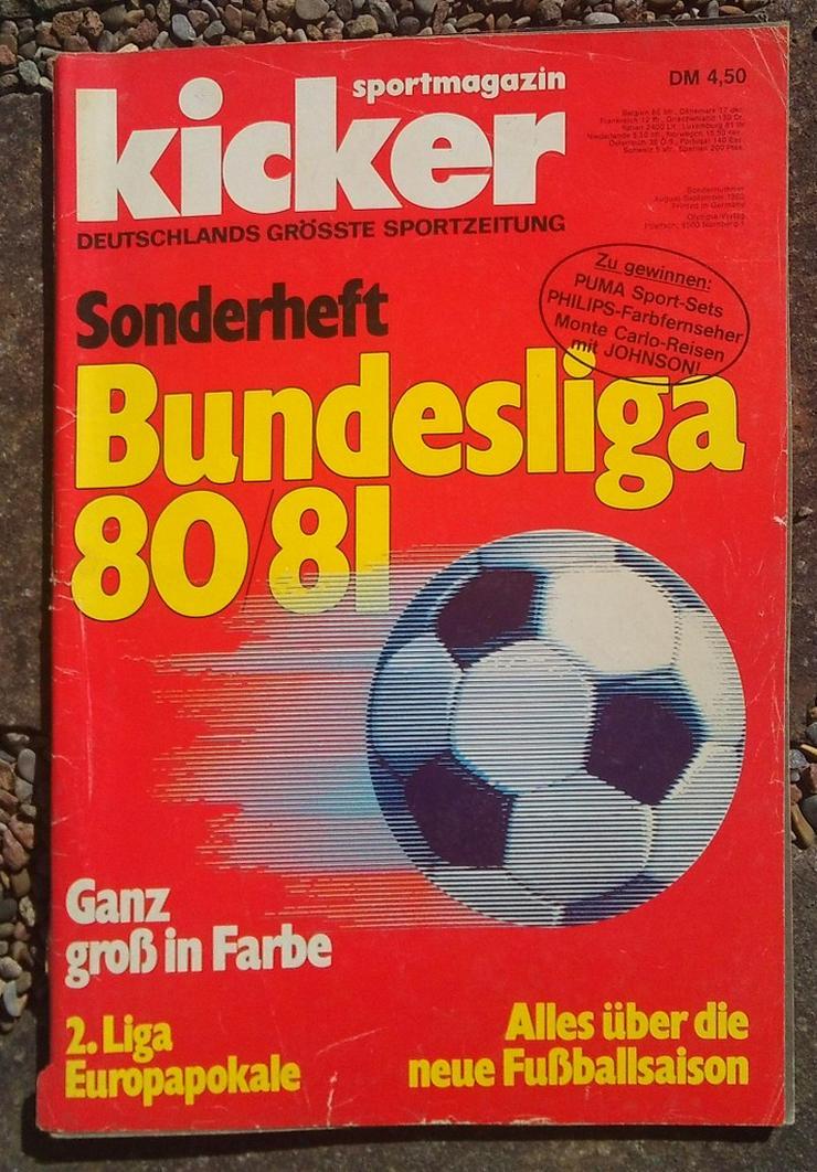 Kicker Bundesliga Sonderheft 80/81