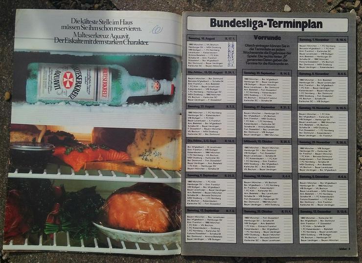 Bild 3: Kicker Bundesliga Sonderheft 80/81
