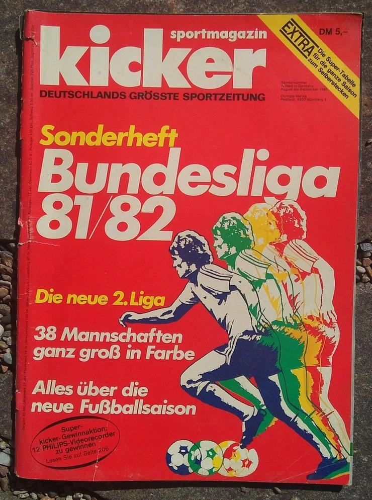 Kicker Bundesliga Sonderheft 81/82