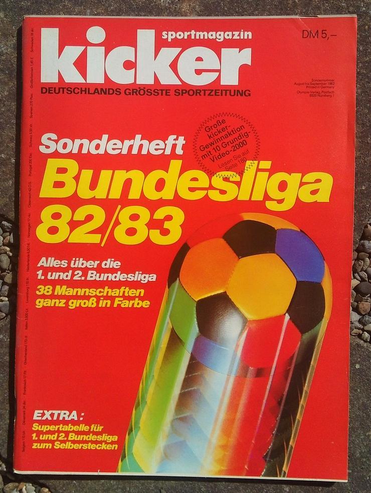Kicker Bundesliga Sonderheft 82/83