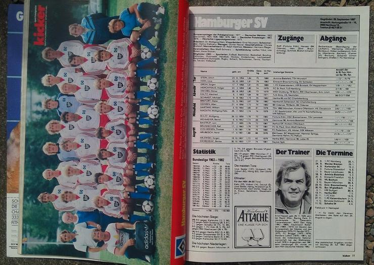 Bild 2: Kicker Bundesliga Sonderheft 82/83