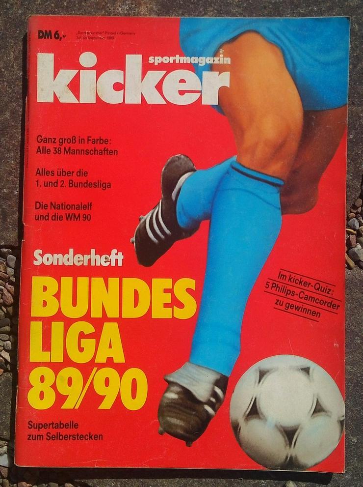Kicker Bundesliga Sonderheft 89/90